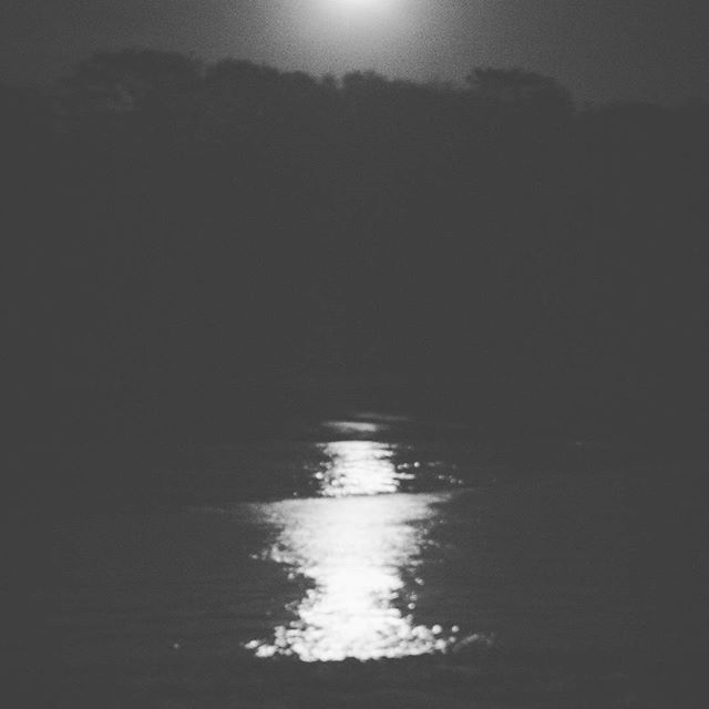 Slowly but surely coming back to shore   ☄ #moon #beach #blackonblack #lost n #found in #myfavoriteplace